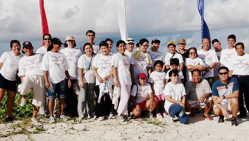 Fiesta Saipan Beach Clean Up