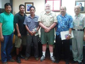 Tan Holdings chartes Boy Scout CNMI