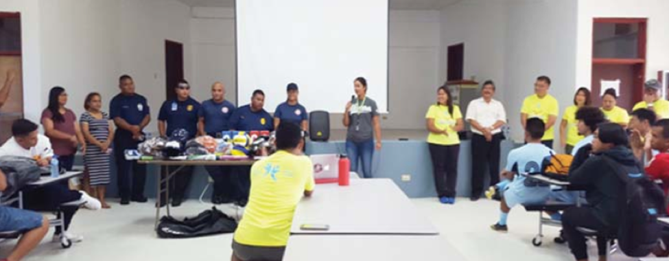 Tan Holdings and TSL Foundation donate $1.3K sports equipment to Rota youth