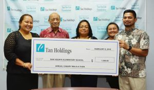 TSL Foundation donates to Annual Canary Walk-a-thon