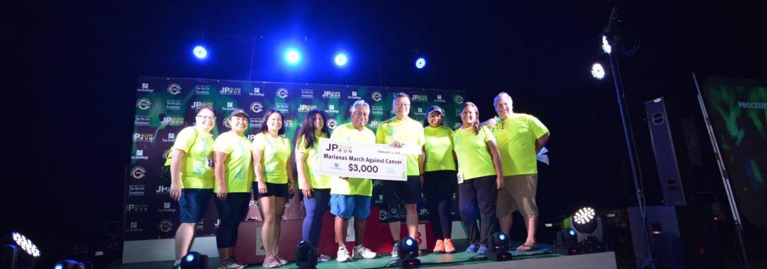 Tan Holdings donates $8,000 to MMAC at the JP Memorial Run