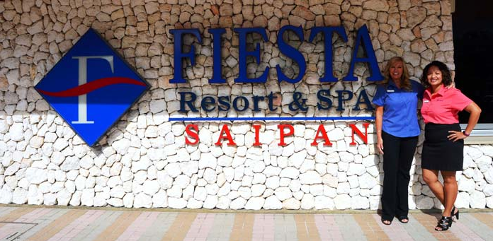 Fiesta Saipan's HR Manager earns certification