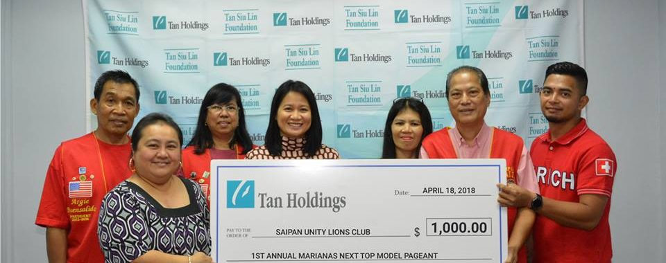 Tan Holdings shows support to Saipan Unity Lions event